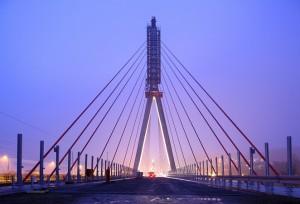 Projekte der öffentlichen Infrastruktur wie die Elbebrücke Niederwartha sind ein wichtiges Standbein  Quelle: Alpine Holding GmbH