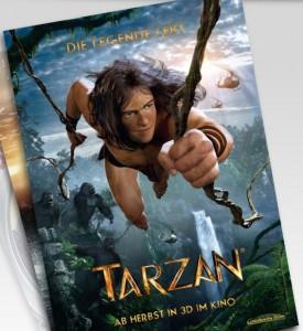 """Kassenschlager wie """"Tarzan"""" blieben bei der Constantin Medien AG in Q1 aus, die Umsatzzahlen sind leicht rückläufig. Quelle: Constantin Film"""
