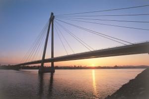 Donaustadtbrücke in WienQuelle:Allgemeine Baugesellschaft - A. Porr Aktiengesellschaft