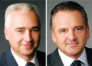 Thomas Kaufmann (links) und Raimar Bock, demächst Steubing AG, vormal CBS