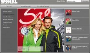 Mit Wöhrl steht der nächste Mode-Bond in den Startlöchern. Quelle: Rudolf Wöhrl AG