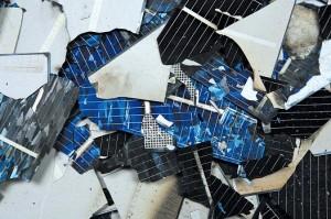 Scherbenhaufen – Auch SolarWorld kann sich den Problemen der Branche nicht entziehen.Quelle: SolarWorld AG