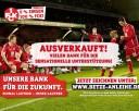 """Vor Abpfiff restlos ausverkauft: Die """"Roten Teufel"""" vom Betzenberg sammeln 6 Mio. EUR ein.Quelle: 1. FC Kaiserslautern e.V."""