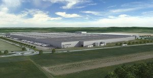 InCity Logistikcenter Daimler