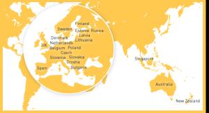 Ferratum ist global tätig