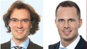 Dr. Thorsten Kuthe (li) und Christopher Görtz, Rechtsanwälte, Heuking Kühn Lüer Wojtek, Köln