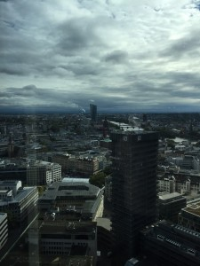 Wolken über Brüssel