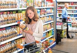 KTG neues Bild Frau im Supermarkt