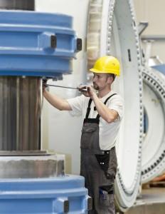 ENO ENERGY Produktionshalle fuer Maschinenhaus der Windenergieanlage e.n.o. 114