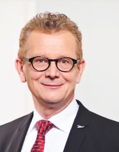 Hans-Jürgen Friedrich, Vorstand der KFM Deutsche Mittelstand AG