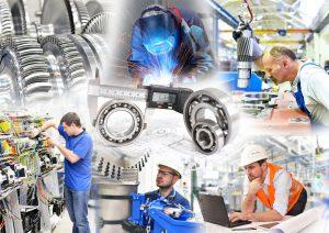engineering - Made in Germany - // Maschinenbau in der Industrie - Produktion und Arbeiter