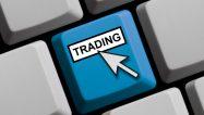 Tastatur mit Mauspfeil zeigt Trading
