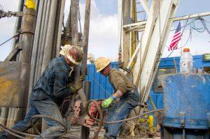 Ölbohrung-Bohrarbeiten-Oil-Drilling