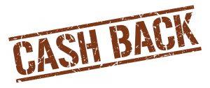 cash back brown grunge square vintage rubber stamp