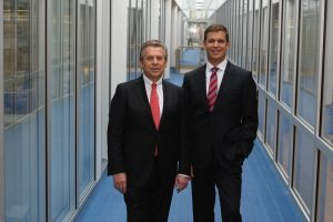 CEO Dr. Stefan Rinck und CFO Markus Ehret