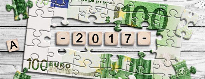 Geldschein - Wrfel - Neujahr 2017