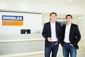 Greg Ellis (CEO, re) und Christian Gisy (CFO), Scout24