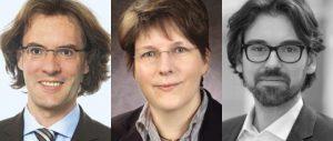 v.l.n.r.: Dr. Th. Kuthe, M. Dresler-Lenz, Heuking, & Dr. Kauther, credX