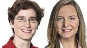 Dr. Anne de Boer (li), Sarah Dupont, RAs, Heuking