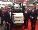World premiere of Schaeffer compact loader with Voltabox lithium-ion technology