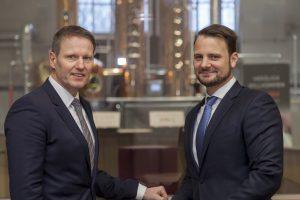 Die beiden Gesprächspartner: links Ralf Brühöfner, recht Oliver Schwegmann
