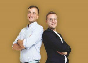 Gründerteam Wolff und Feelisch